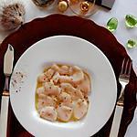 recette Carpaccio de Saint-Jacques à la vanille