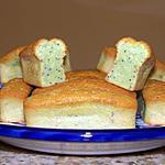 recette Mini-cakes au citron vert et aux graines de pavot