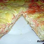 recette Tarte au saumon et boursin