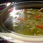 recette ~Soupe réconfortante au poulet et au riz~