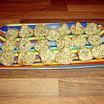 recette rocher à la noix de coco et noisette en poudre