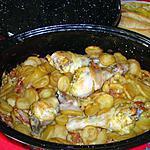 recette POULET   CREOLE  gingembre massalé