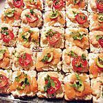 recette Toast Saumon Ou Crevette