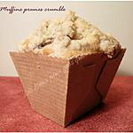 recette Muffins crumble aux prunes