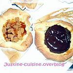 recette tartelette chocolat coeur coulant croquant de caramel au beurre salé et speculoos
