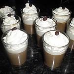 recette liégeois au café(a l'agar agar)