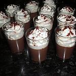 recette liégeois au chocolat (a l'agar agar)