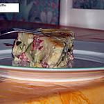 recette Clafoutis de courgettes au chèvre