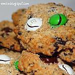 recette Cookies chocolat et noix de coco