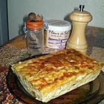 recette flan de courgettes aux épices et à la mozzarella