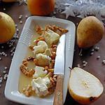 recette Gorgonzola aux poires et noix