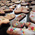recette Petits sablés de Noël au chocolat et aux épices !