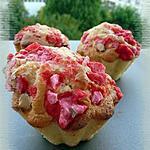 recette Briochettes aux pralines roses
