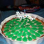recette gâteau d'anniversaire 'la mare aux grenouilles'