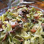 recette Tagliatelles aux girolles et noix st jacques