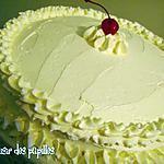 recette ~Gâteau à la vanille et son glaçage~