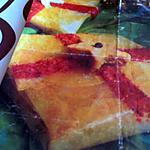 pastillas au magret fumé, foie gras et poires