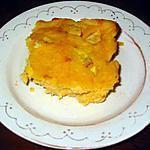 recette Gâteau de semoule à la citrouille et aux pommes