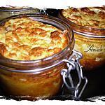recette soufflé de chou-fleur au gorgonzola