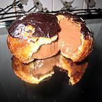 recette Petits choux chocolat-amande amère
