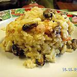 recette Risotto de fruits de mer à l'actifry