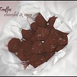 recette Truffes chocolat/coco