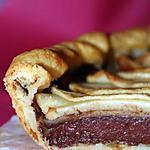 recette Tarte aux pommes et boudin noir