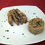 recette Magret de canard en croûte de noix