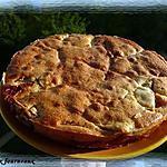 recette Gâteau aux pommes & à la confiture de lait