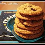 cookies : recette chocolate chip cookie - sans beurre ni oeuf