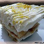 recette Tiramisu al limone