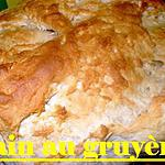 recette pain au gruyère