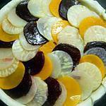 recette Tarte feuilletée aux légumes d'automne