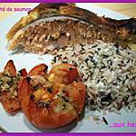 recette Feuilleté de saumon aux herbes