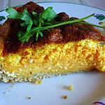 recette Tarte CCP (=Cancoillotte - Carotte - Potiron)
