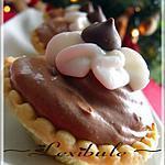 recette Tartelettes magiques à la mousse au chocolat