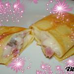 recette Crêpes jambon/champignons