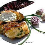recette AIGUILLETTES DE POULET EN HABIT D'HERBES DU JARDIN ou CHICKEN NUGGETS