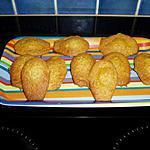 recette madeleine au zeste de clémentine