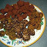 recette TRUFFE au cacao, truffe  au speculos,truffe a la crepe dentelle et au speculos et nutella