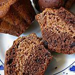 recette Muffins chocolat et pâte de dattes
