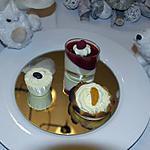 recette panacotta au chocolat blanc et aux framboises.