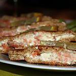 recette Croque Saumon