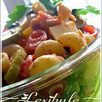 recette Salade de macaronis