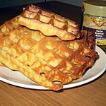 recette Gaufres au miel