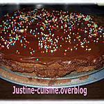 recette Gâteau aux deux chocolats