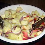 recette Salade de pommes de terre et de pommes de l'air
