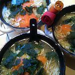 recette SOUPE  AUX  NOUILLES  CHINOISES