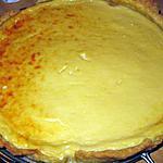 recette Tarte au fromage blanc et au miel