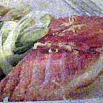 recette FILET DE SAUMON, SALADE TIEDE DE POMMES DE TERRE